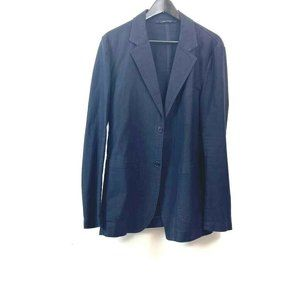C.P. Company Mens Two Button Sport Coat Blazer Bla
